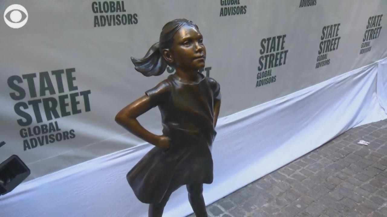 'Fearless Girl' Statue Gets New Permanent Home