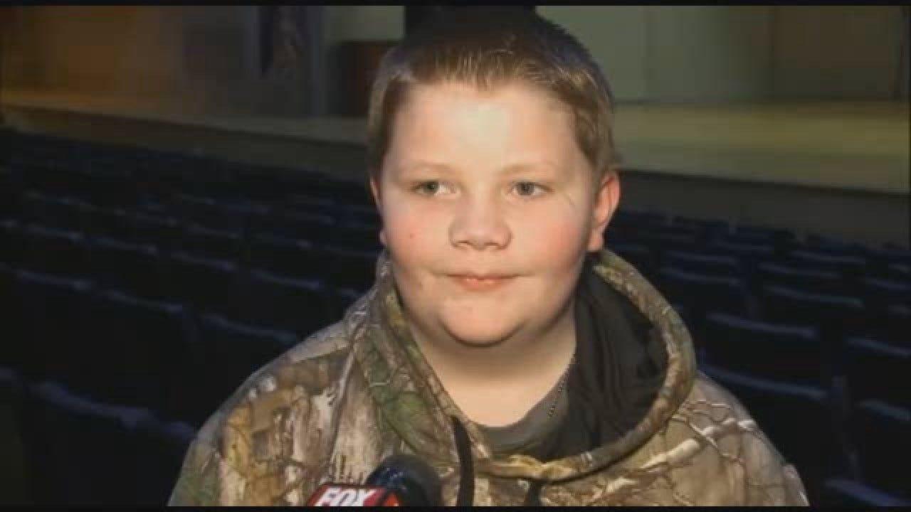 Boy Raises Money For Friend's Headstone