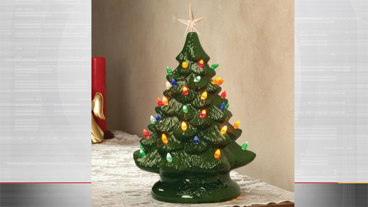Ceramic Christmas Trees Are Back In Style, Selling For Hundreds