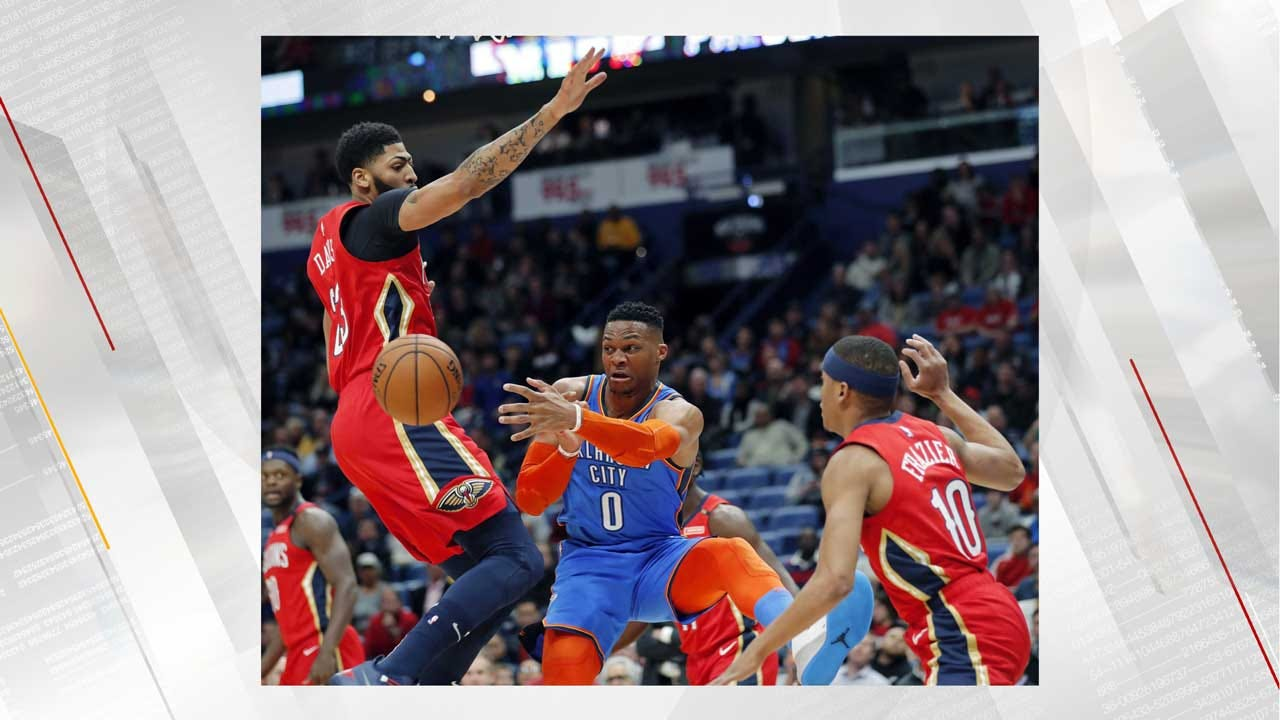 Thunder Drop To Third After Loss To Pelicans, 118-114