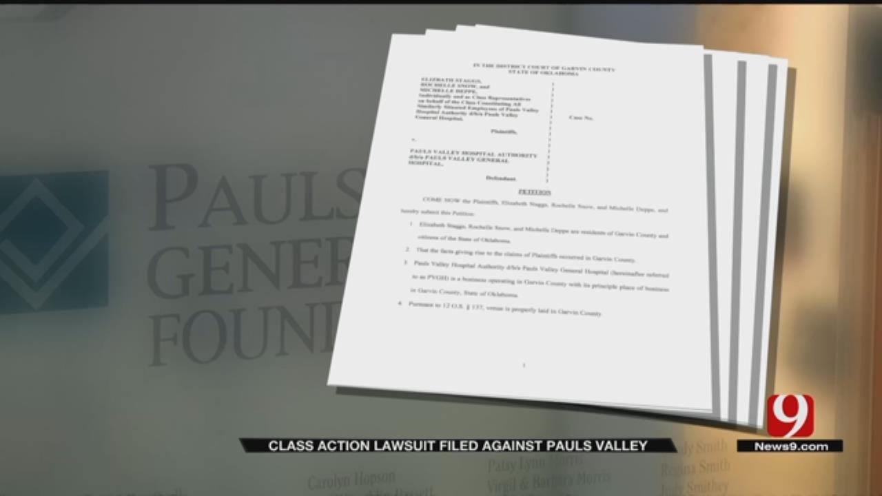 Class Action Lawsuit Filed Against Pauls Valley