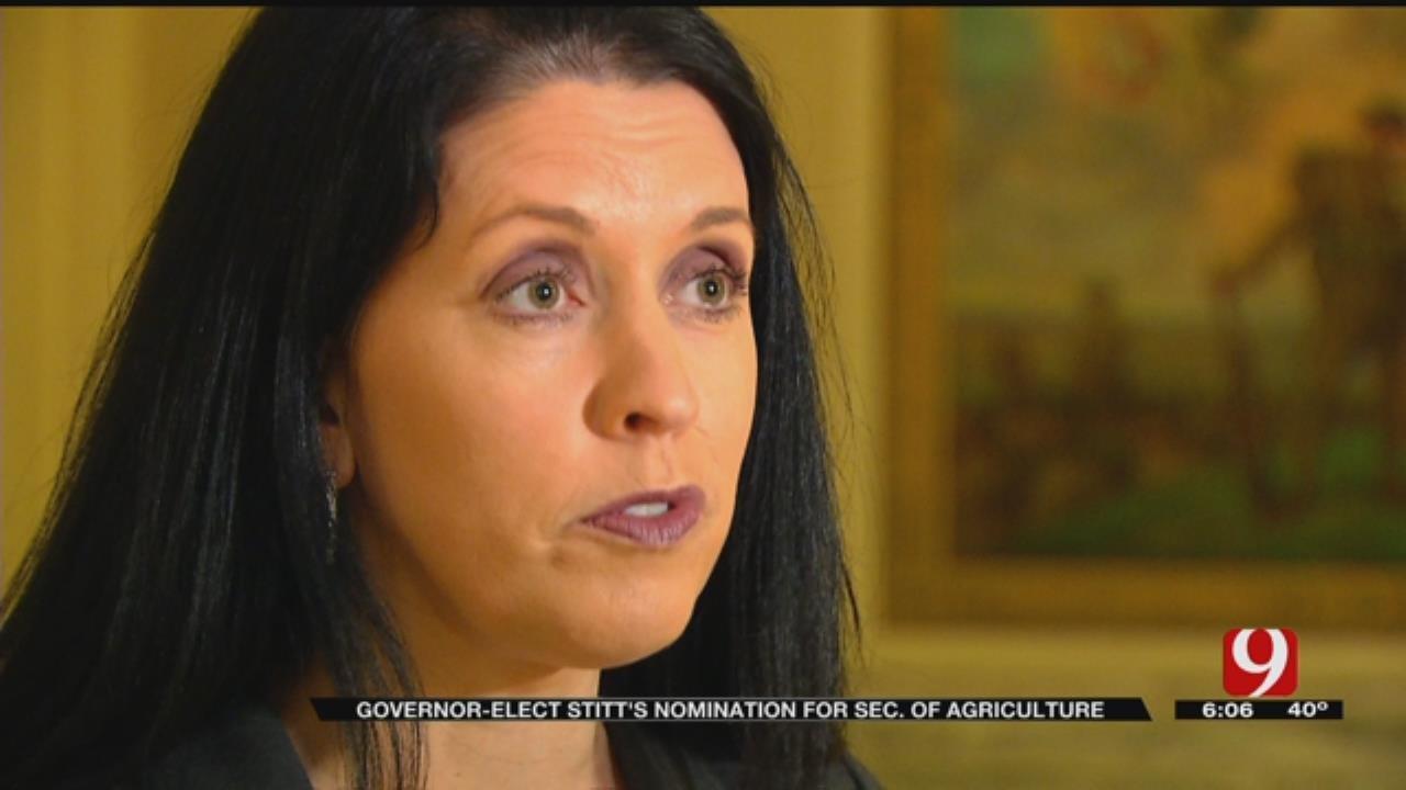 Stitt Nominates First Female Secretary Of Agriculture
