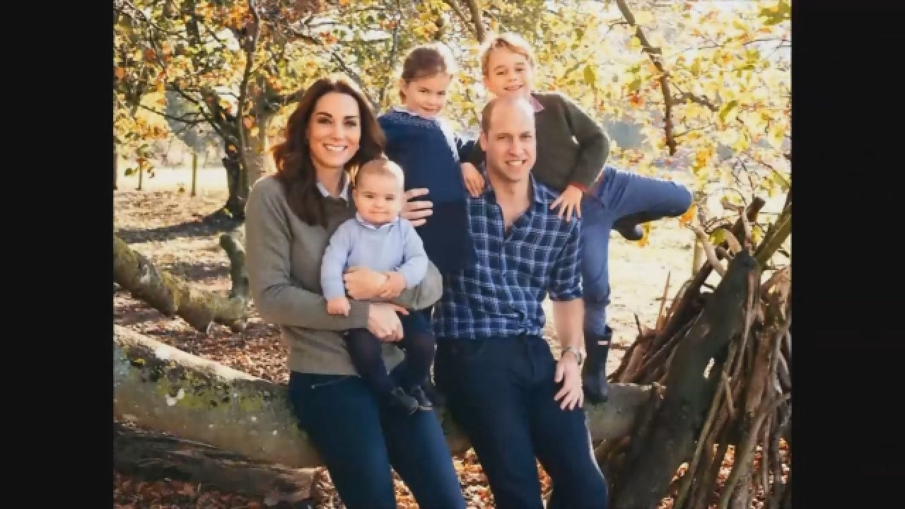 British Royal Family Reveals Christmas Card Photos
