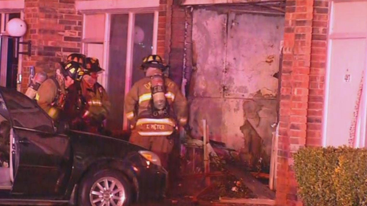 Early Morning Fire Damages Biltmore Hotel In SW OKC