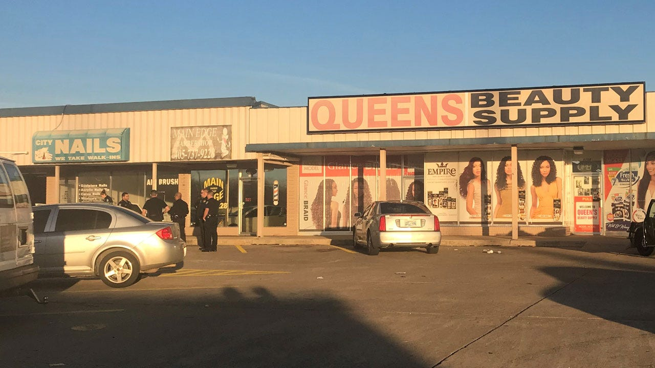 Police Respond To Drive-By Shooting Near Beauty Store In MWC