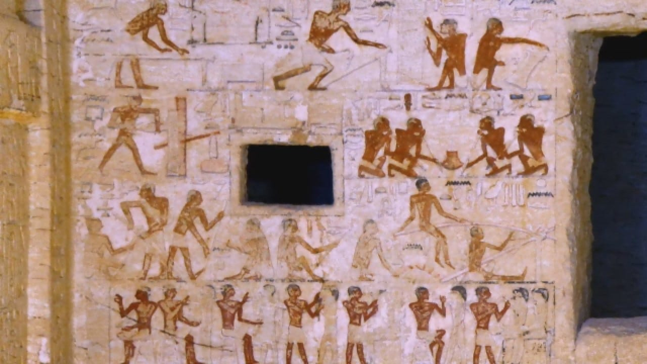 Egyptian Tomb Discovered: Statues, Hieroglyphics Exceptionally Preserved