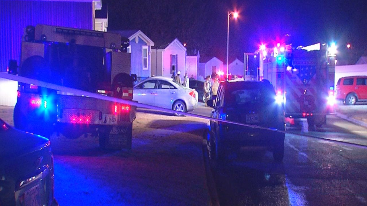 Teen Hospitalized After Being Pulled From Burning Mobile Home Unconscious