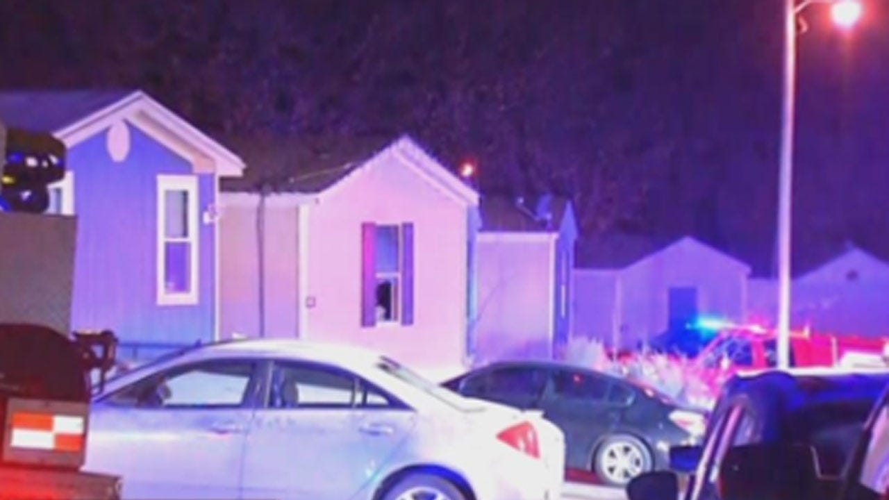 Teen In Critical Condition, Firefighter Injured In SW OKC Mobile Home Fire
