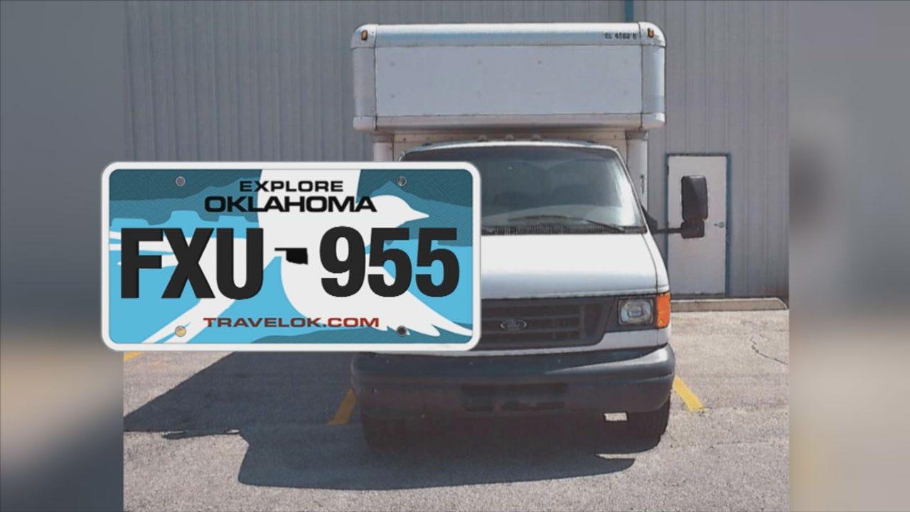 OKC Food Pantry Truck Stolen