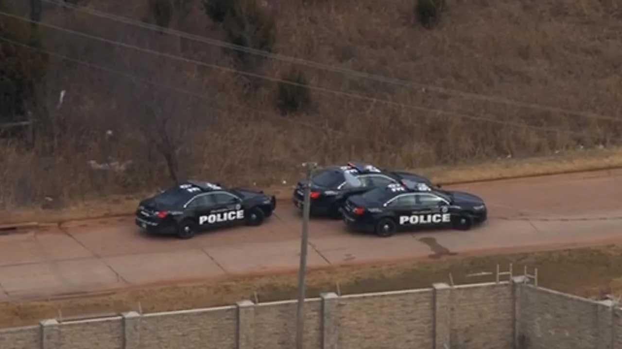 Police Investigate A Shooting In SE OKC