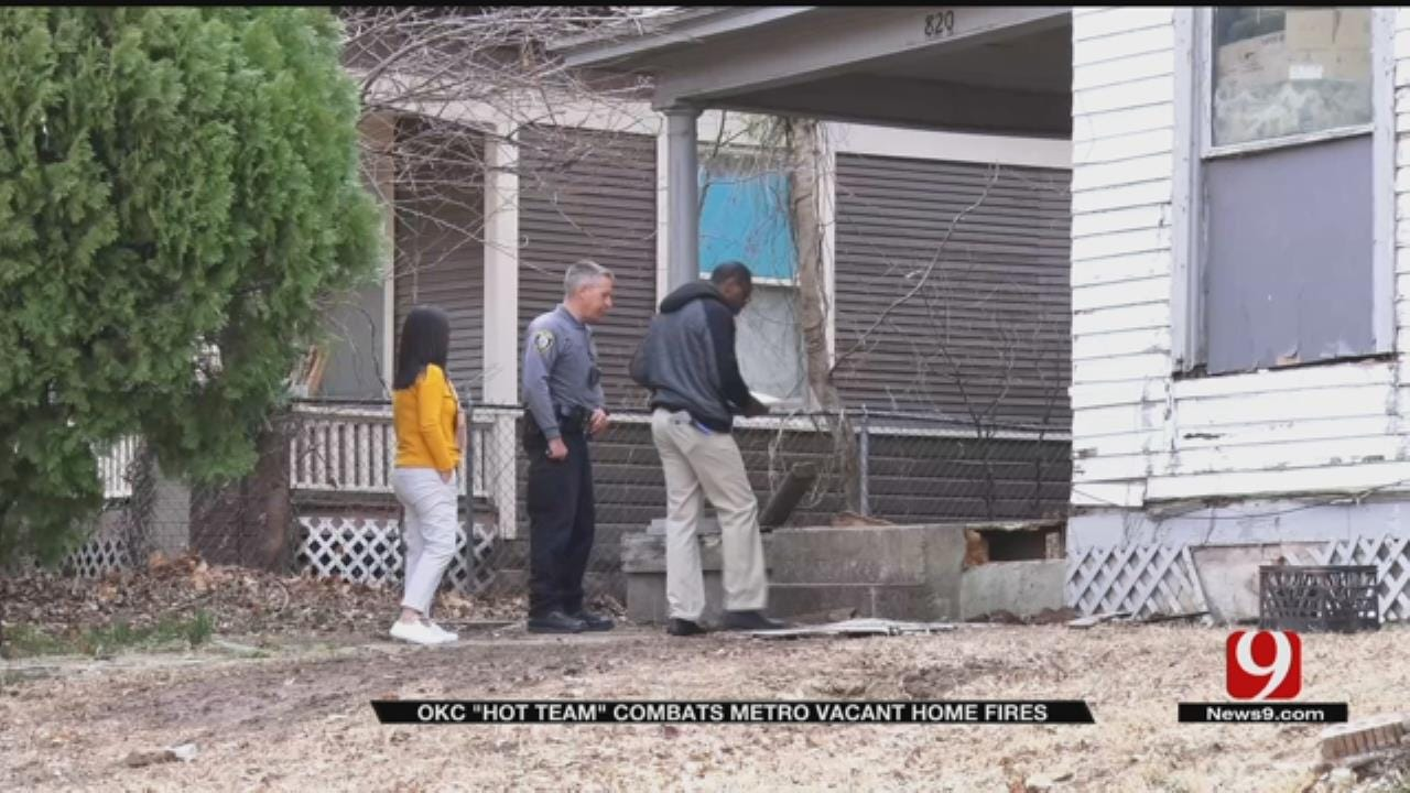 OKC 'HOT' Team Combats Metro House Fires And Helps The Homeless