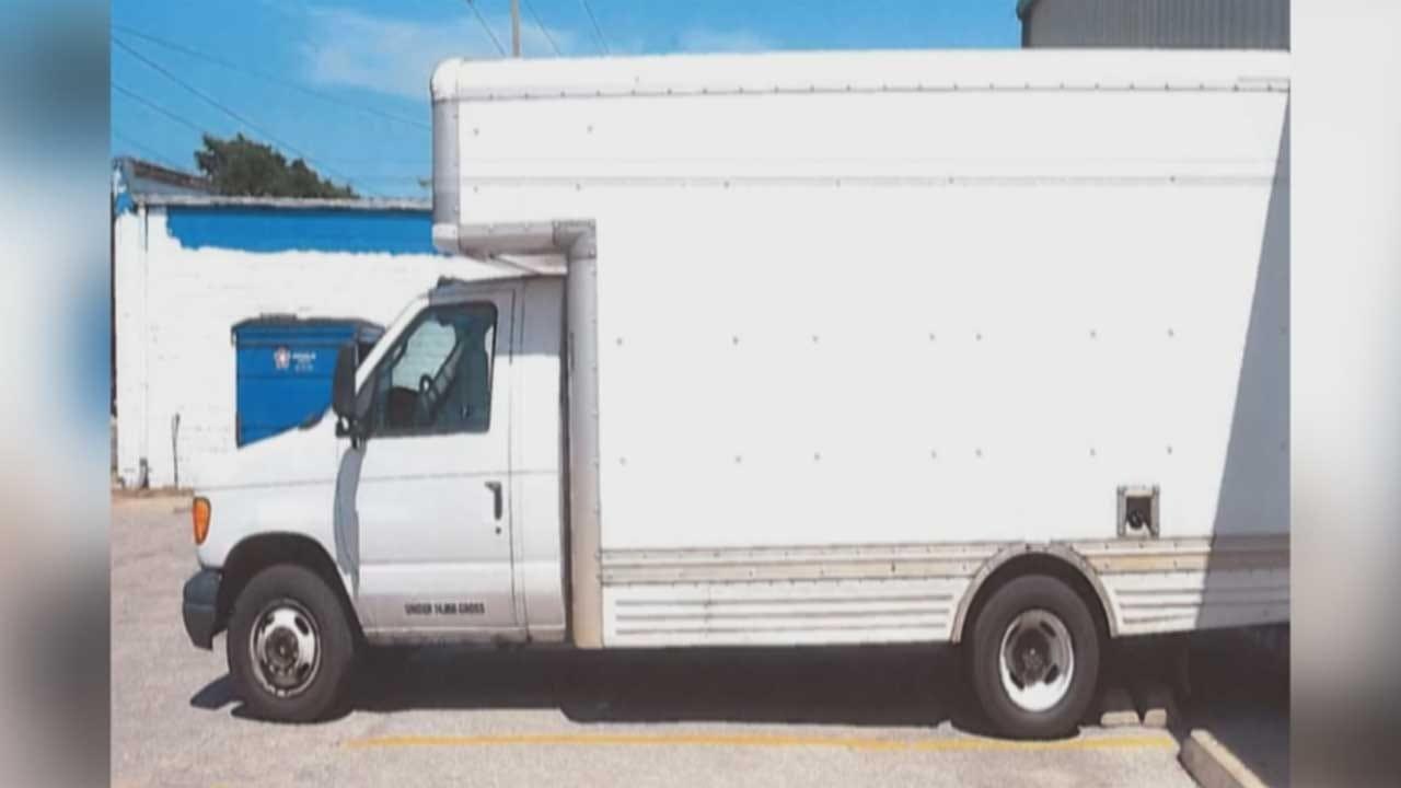 Stolen OKC Food Pantry Truck Found