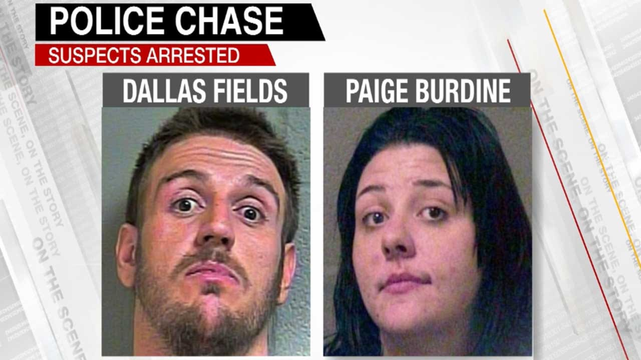 OKC Officers Find Weed Hidden In Woman's Body Cavity After Stolen Car Chase