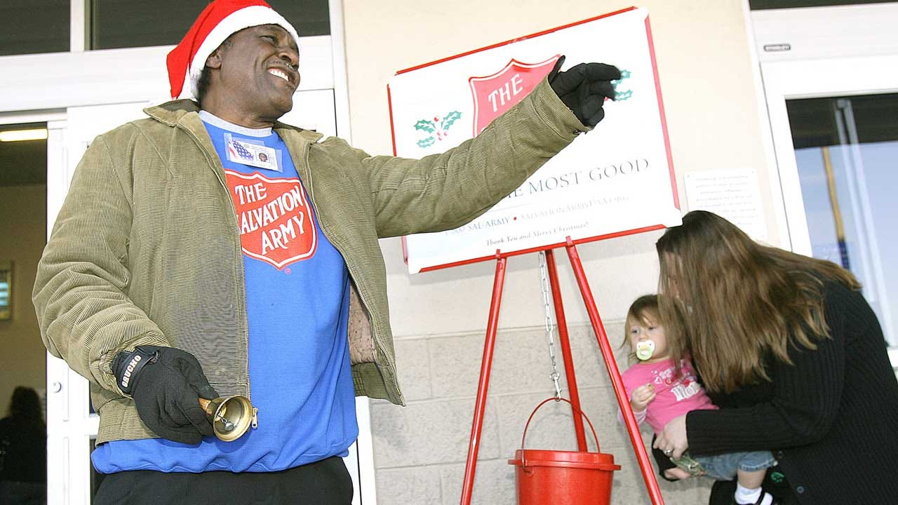 Salvation Army's 'Red Kettle' Donations Lag In Digital Age