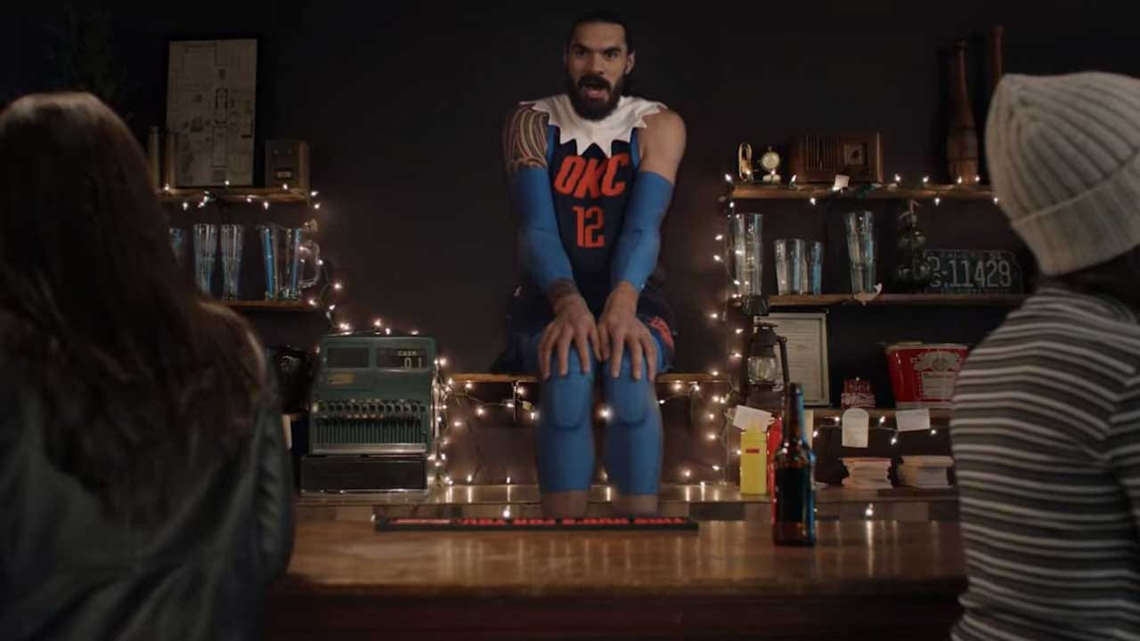 WATCH: Steven Adams Featured As 'Elf On The Shelf' In New Budweiser Commercial