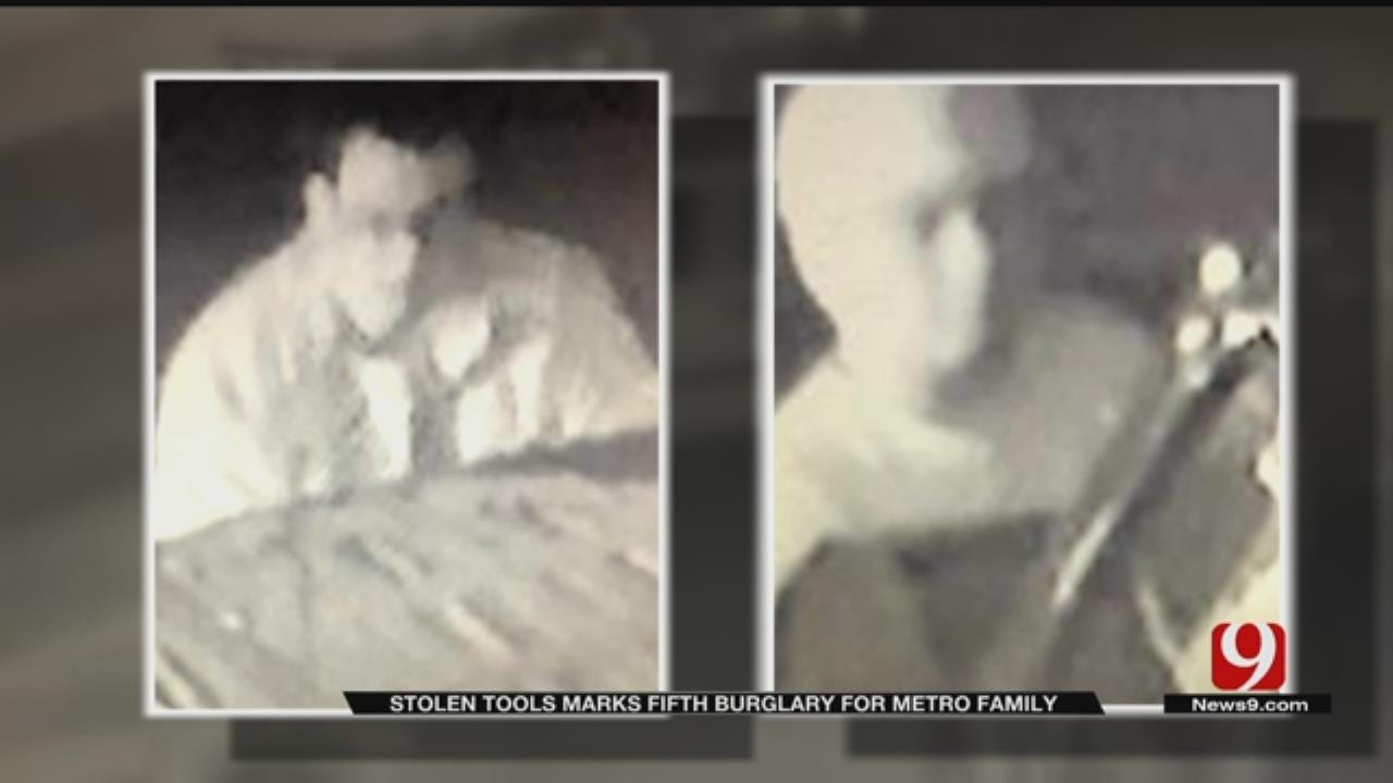 OKC Homeowner Burglarized For 5th Time Before Christmas