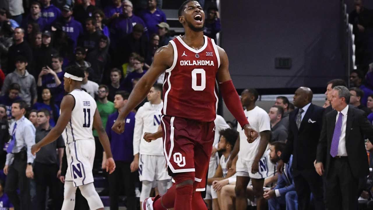 Oklahoma Gets Past Northwestern 76-69 In OT