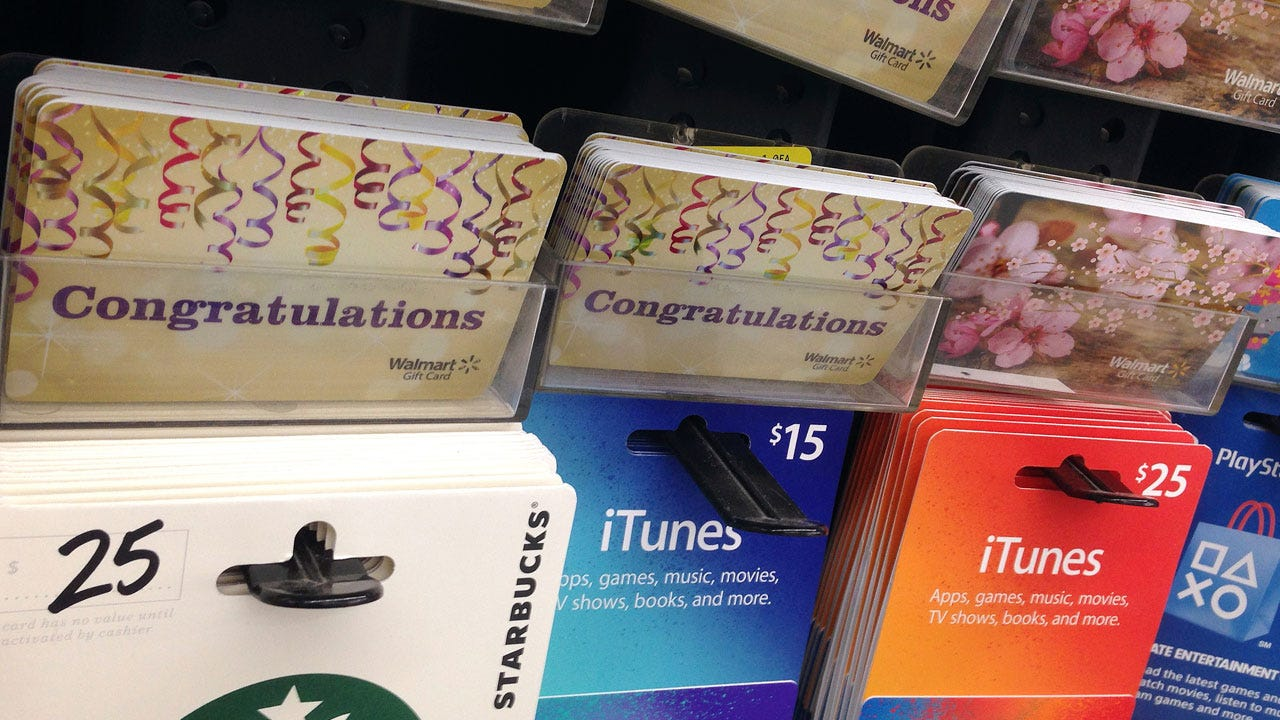 Beware Of Growing Scam Involving Gift Cards