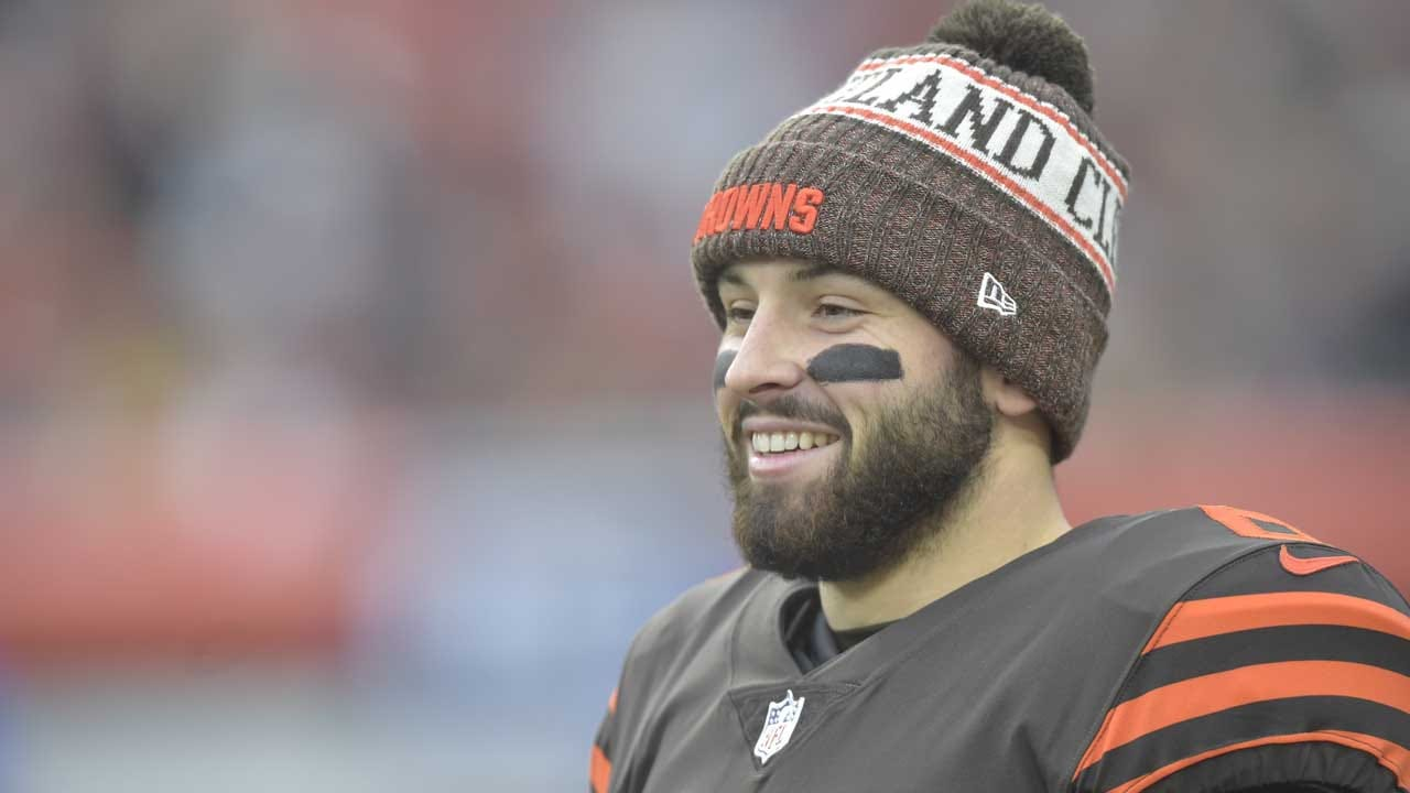 Browns' Mayfield Racking Up Awards, Leading Browns Revival