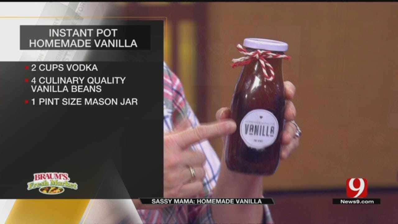 Instant Pot Homemade Vanilla Extract