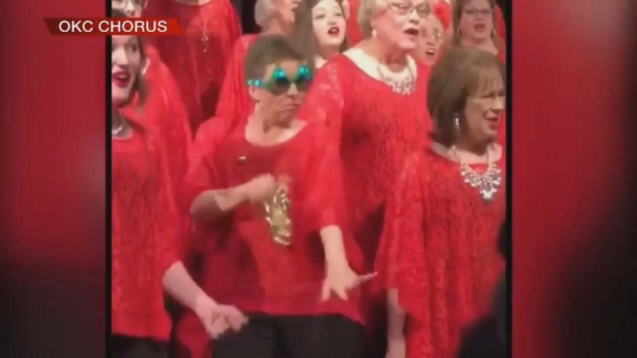 OK City Chorus' Rendition Of Jingle Bells Goes Viral