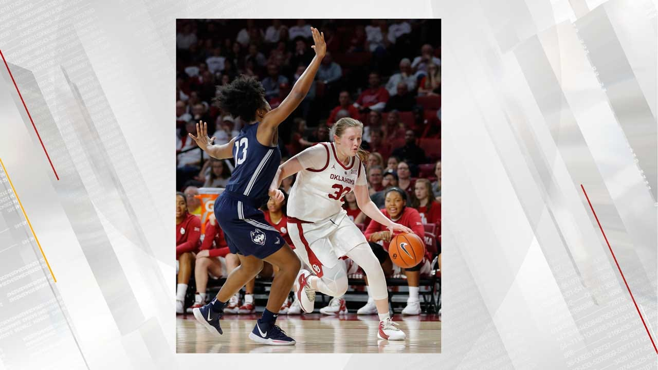 OU's Taylor Robertson Wins Big 12 Freshman Of The Week