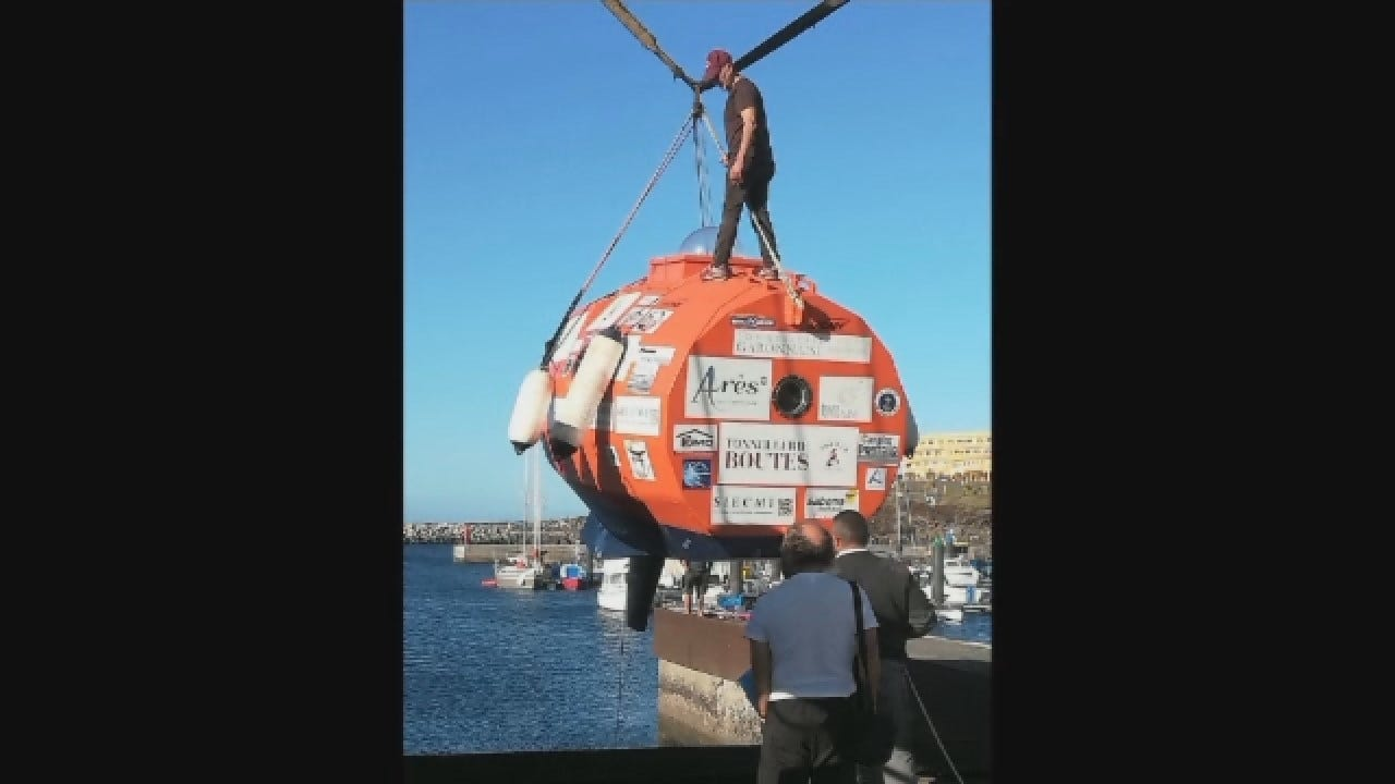 Frenchman Aims To Travel 2,800 Miles In Barrel Capsule