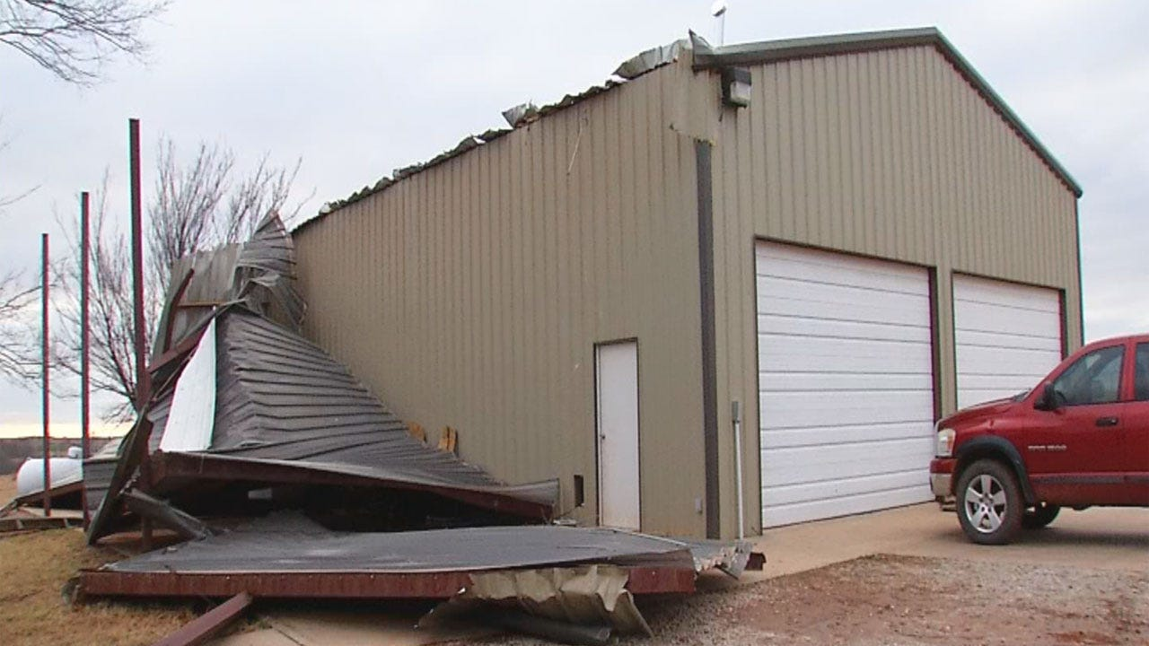 Grady County Rescue Dog Training Facility Damaged In Storms