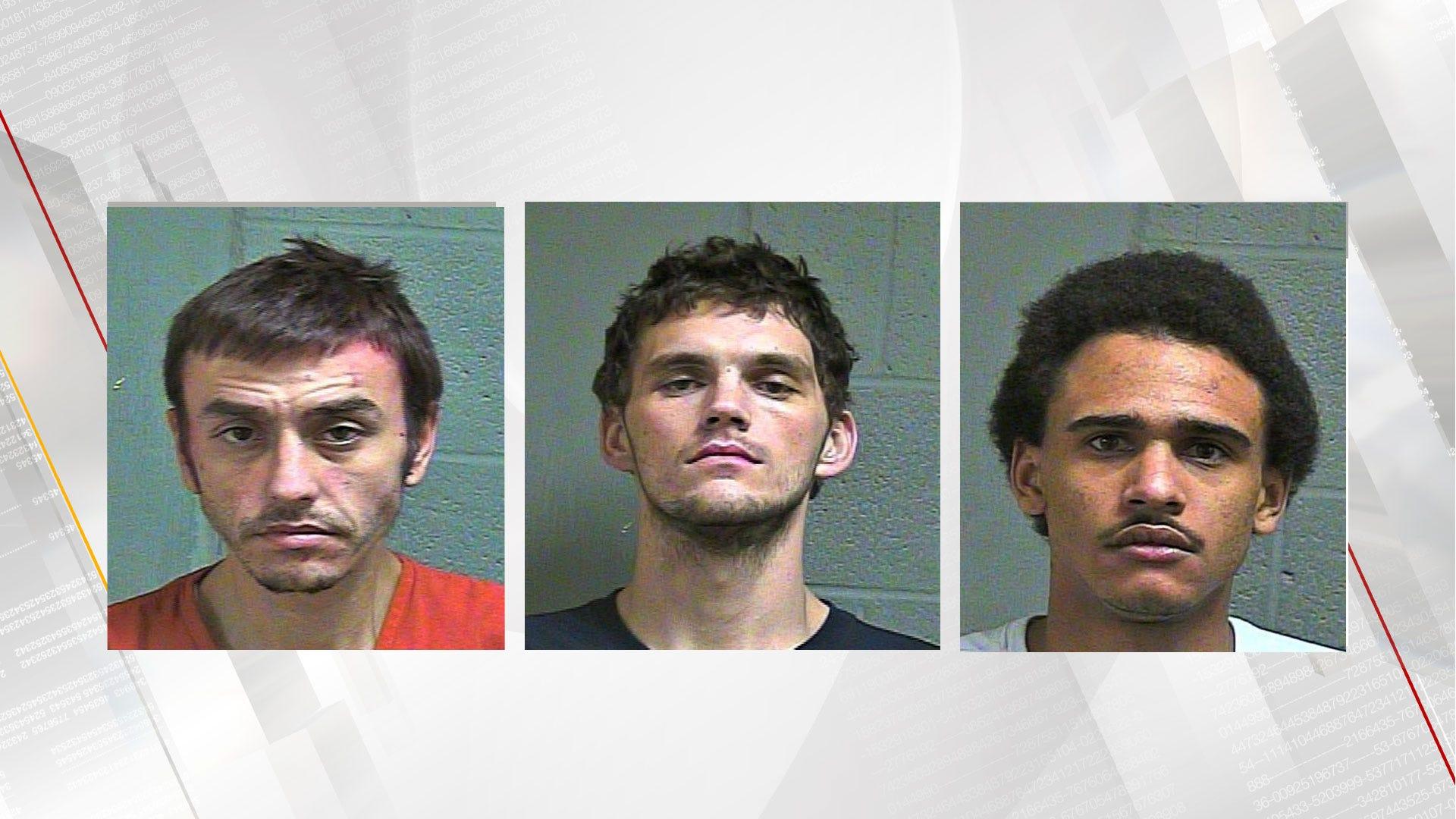 3 Suspects Taken Into Custody After Fleeing Traffic Stop In SW OKC