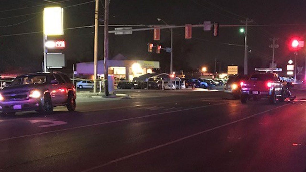 5 Transported To Hospital Following 3 Car Accident In NW OKC