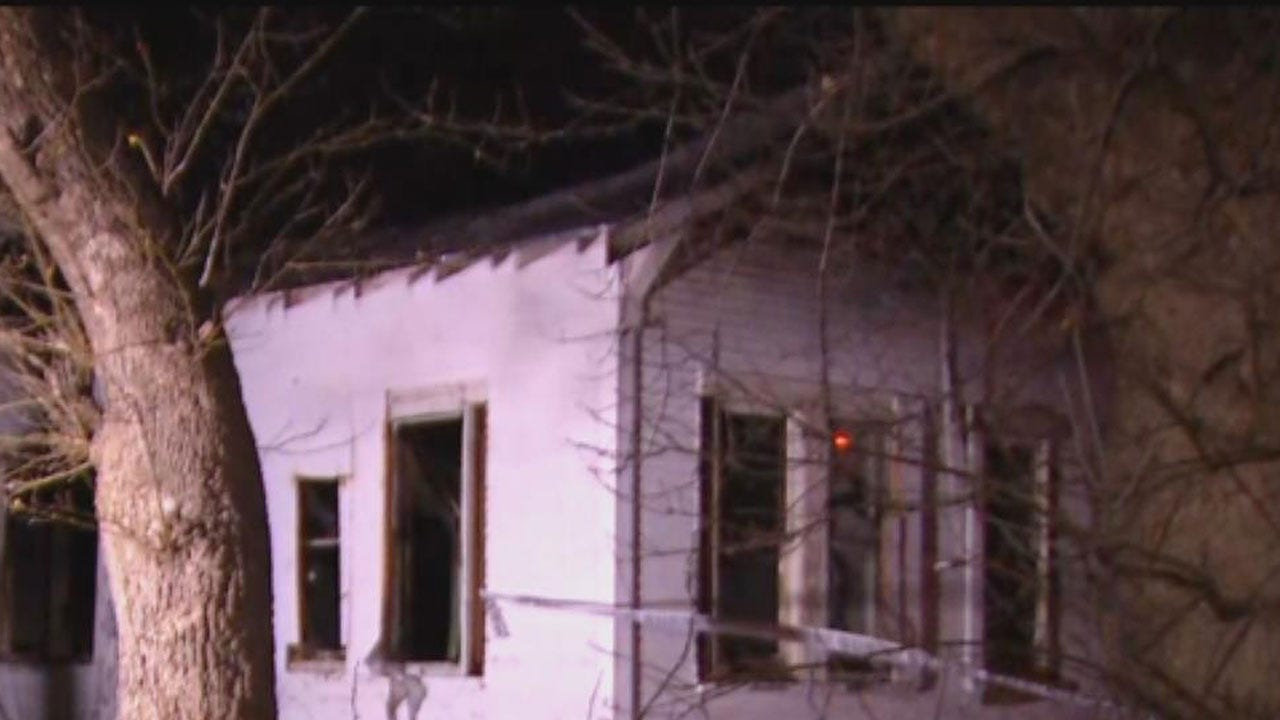 Crews Battle Vacant Structure Fire In SW OKC