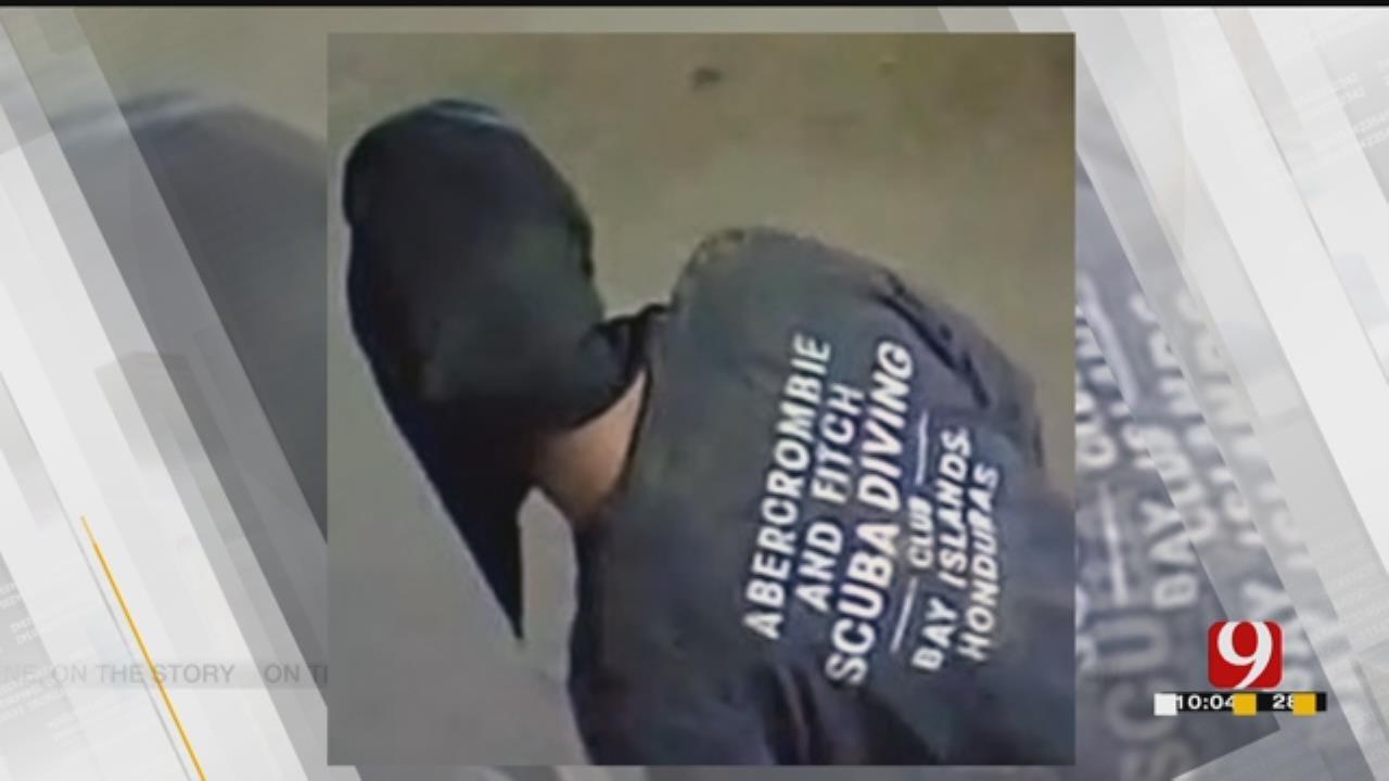McClain County Barn Burglar Busted, Suspect Caught On Camera