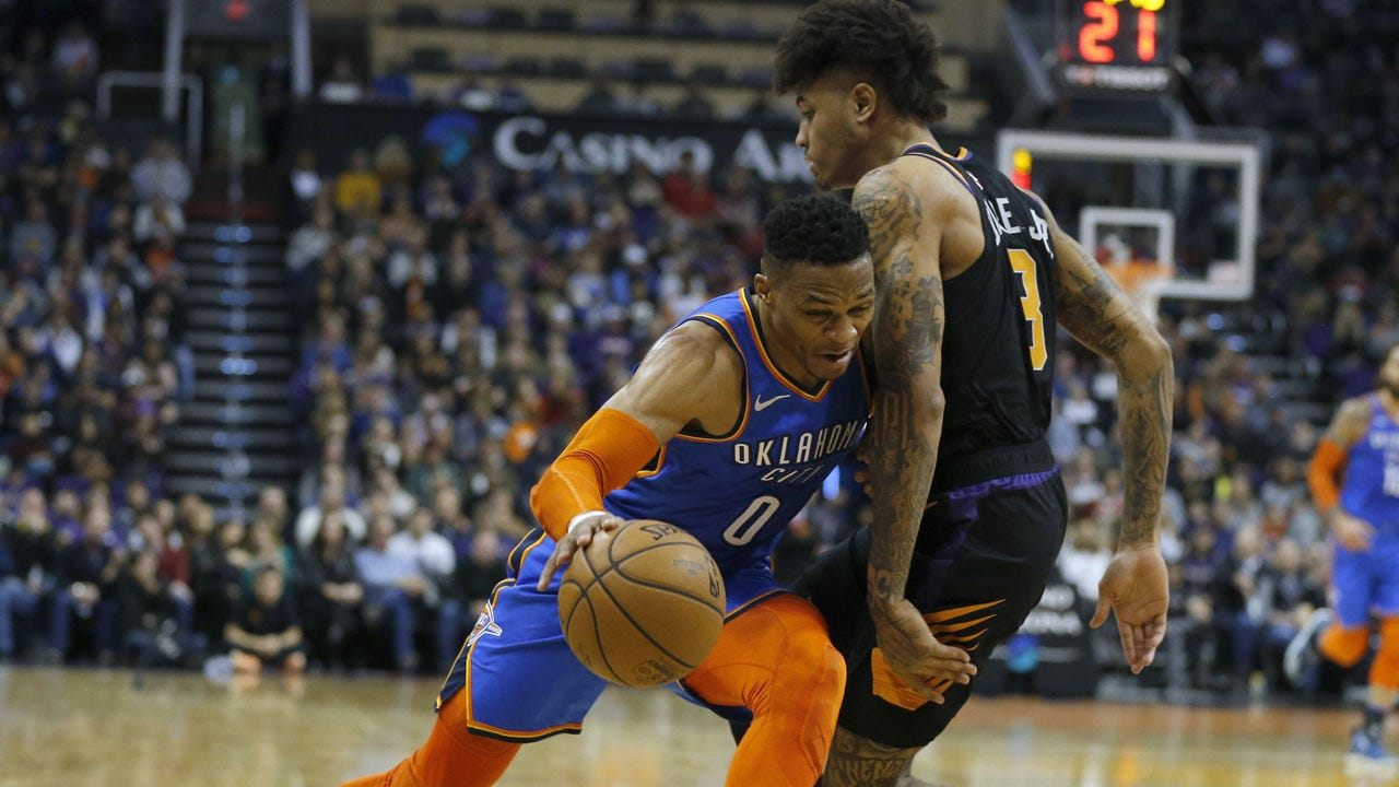 Thunder Defeat The Suns 118 To 102