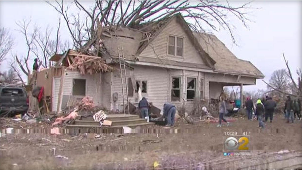 Devastating Tornadoes Rip Off Roofs, Down Power Lines In Midwest