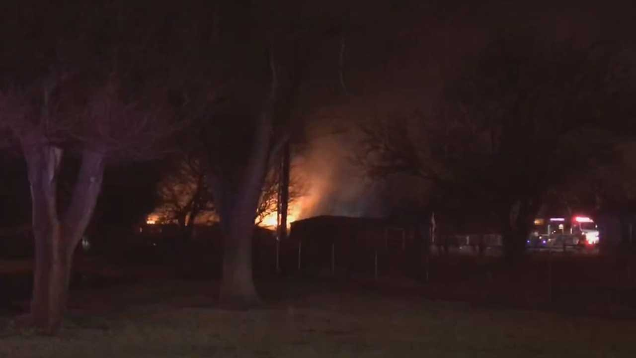 Multiple Fire Crews Respond After Forest Park Home Catches Fire