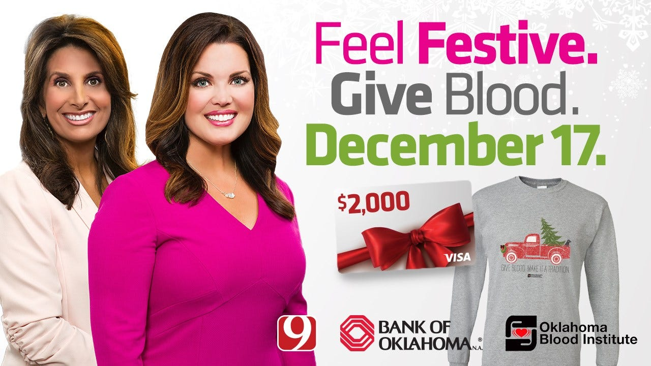 OBI Holiday Blood Drive To Be Held Dec. 17