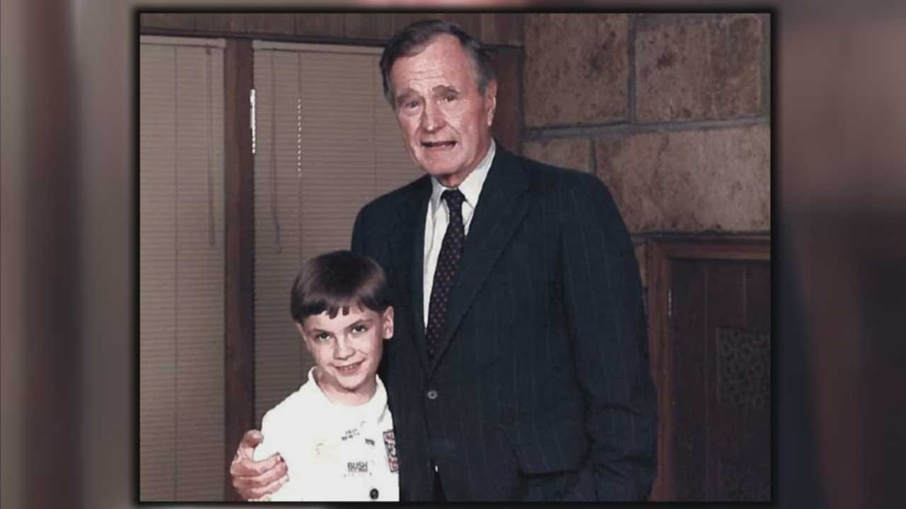 Oklahoman Inspired To Become Politician After Life-Changing Meeting With George H.W. Bush