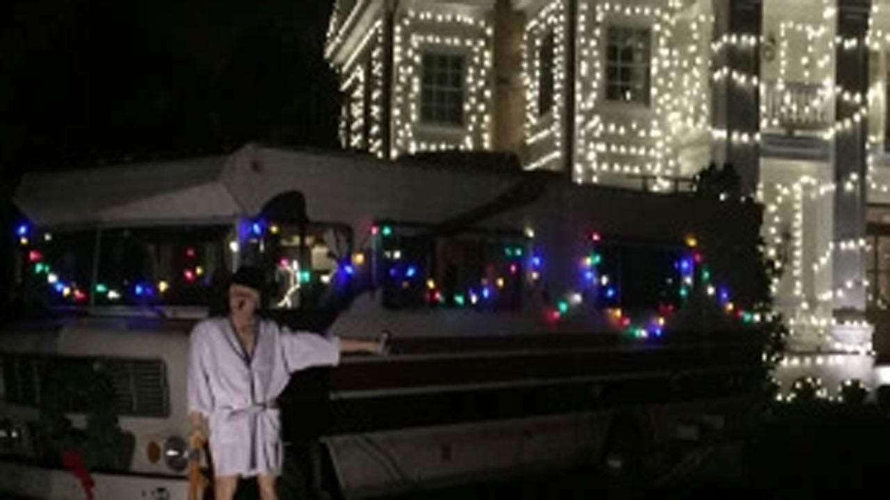 South Jersey Man Perfectly Recreates 'Christmas Vacation' Light Display To Benefit Toys For Tots