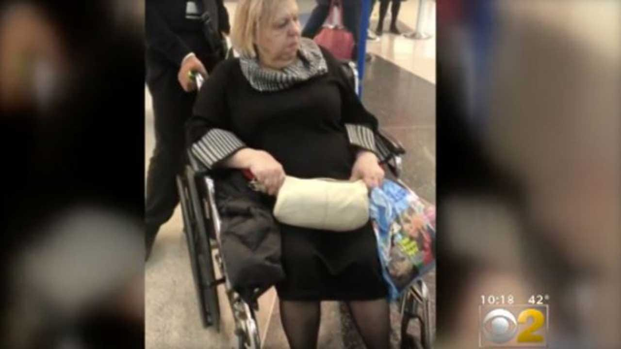 Woman In Wheelchair Left Alone In Airport Overnight