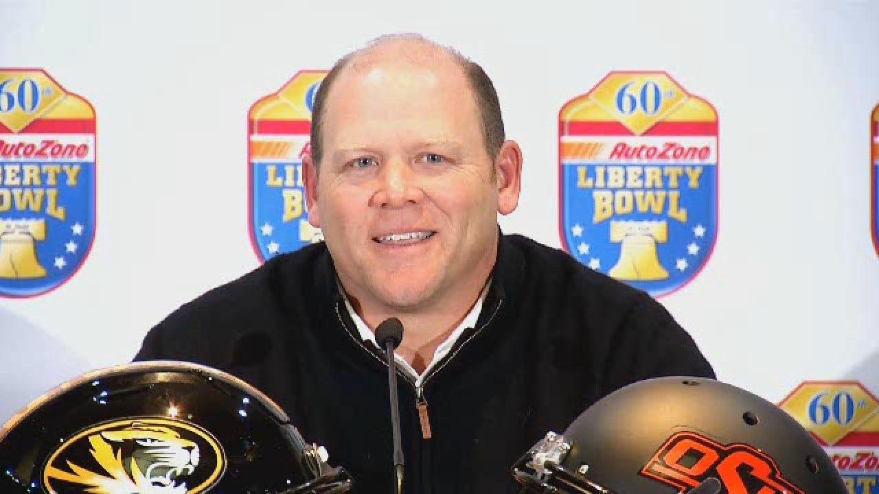 Missouri Head Coach Reminiscing On Oklahoma Roots