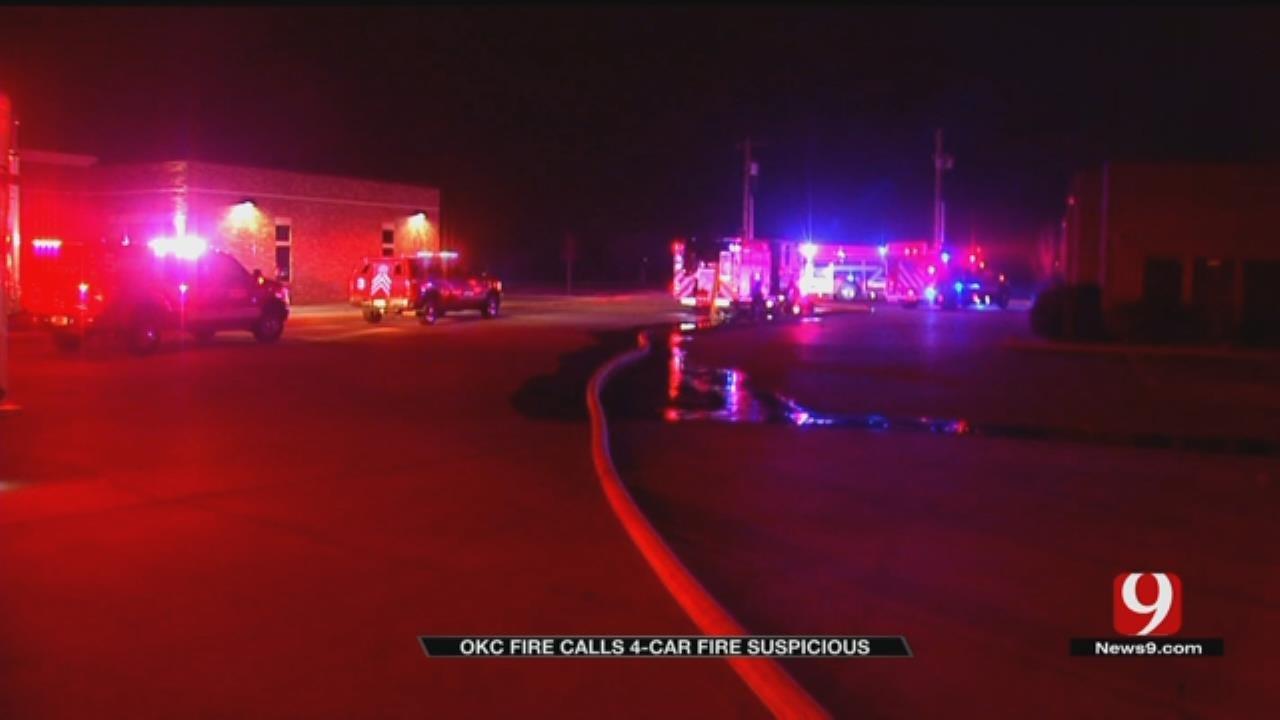 OKC Fire Department Investigating Suspicious Series Of Fires