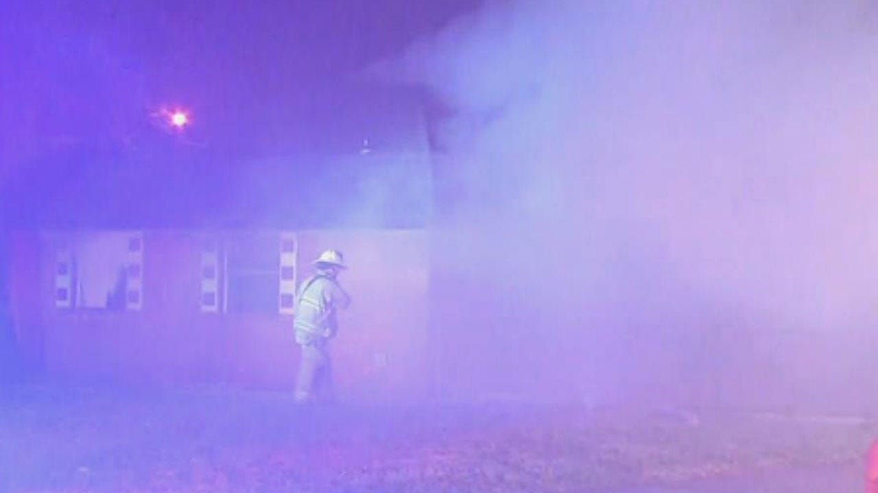 Firefighters Extinguish Vacant House Fire In SW OKC