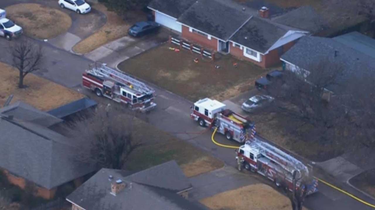 Firefighters Quickly Extinguish SW OKC House Fire