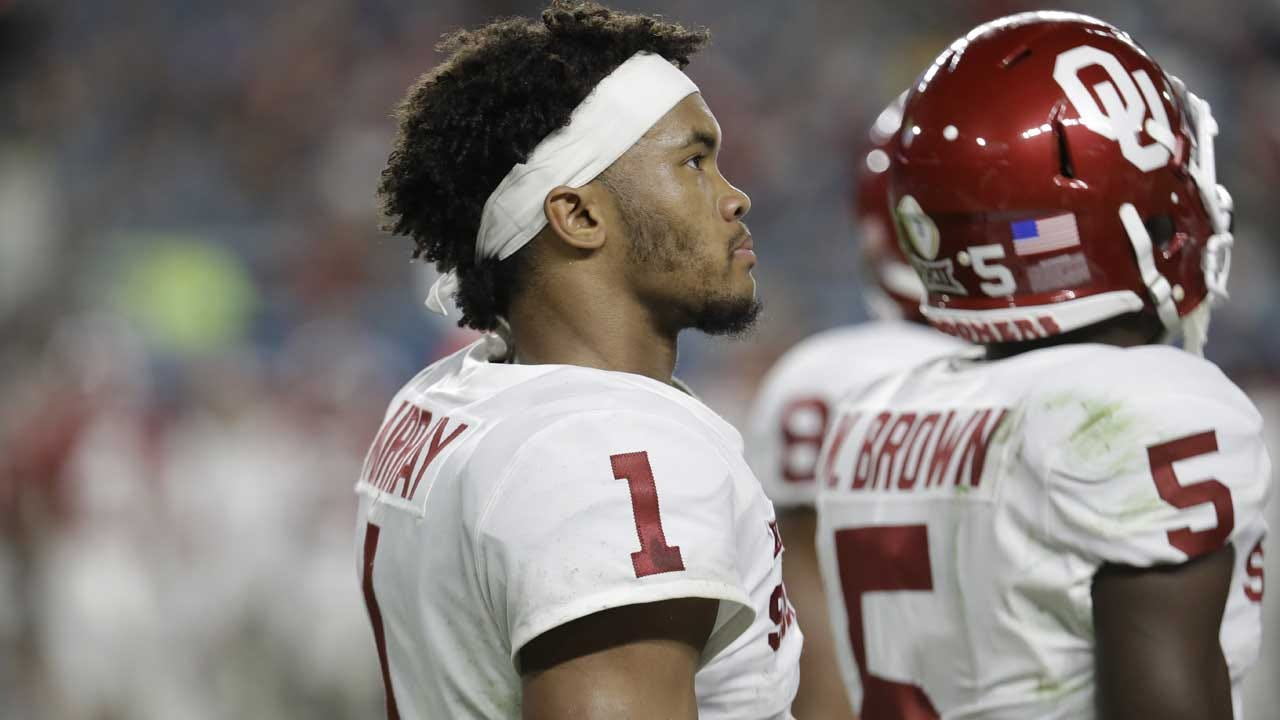 Kyler Murray Commits To 'Becoming An NFL Quarterback'