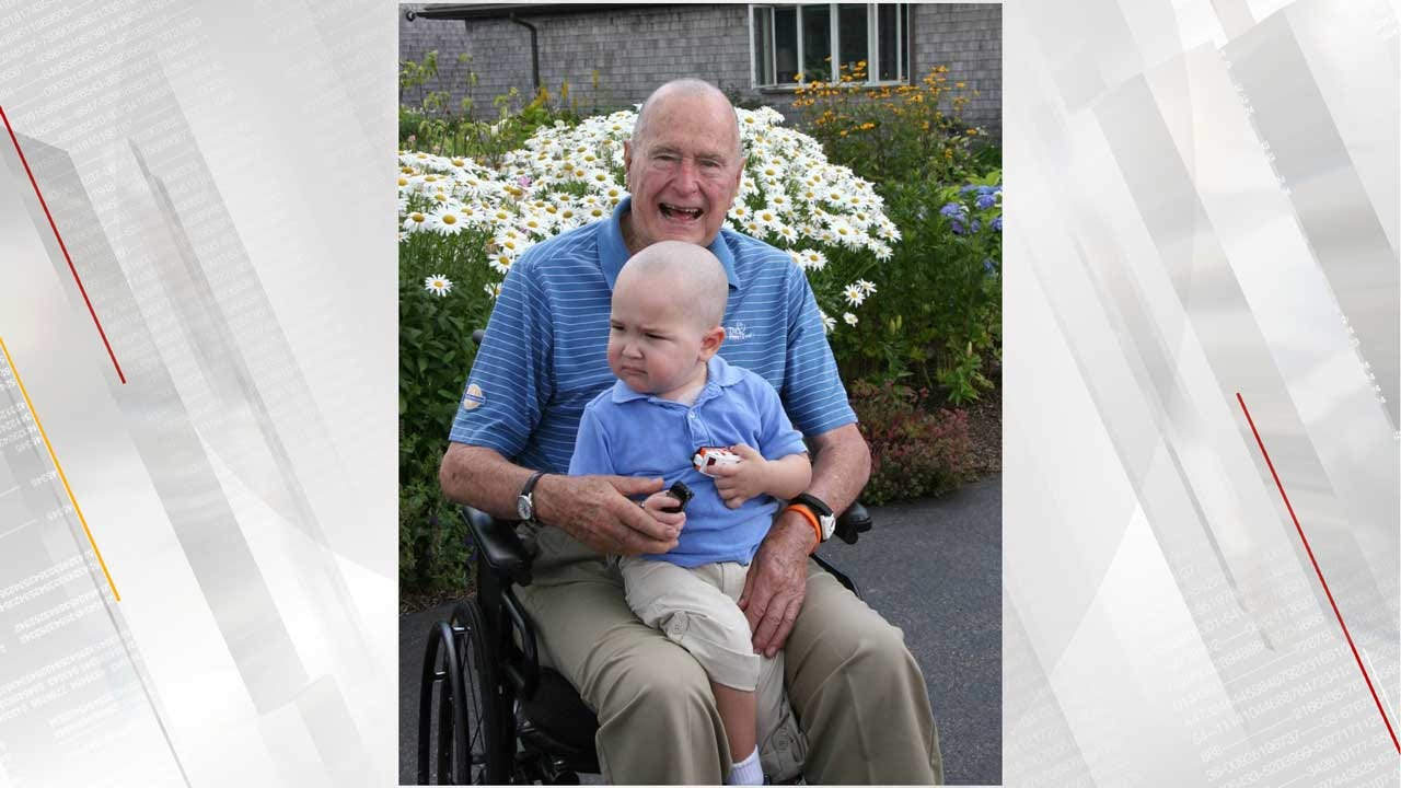 George H.W. Bush Once Shaved Head For Secret Service Agent's Son With Leukemia