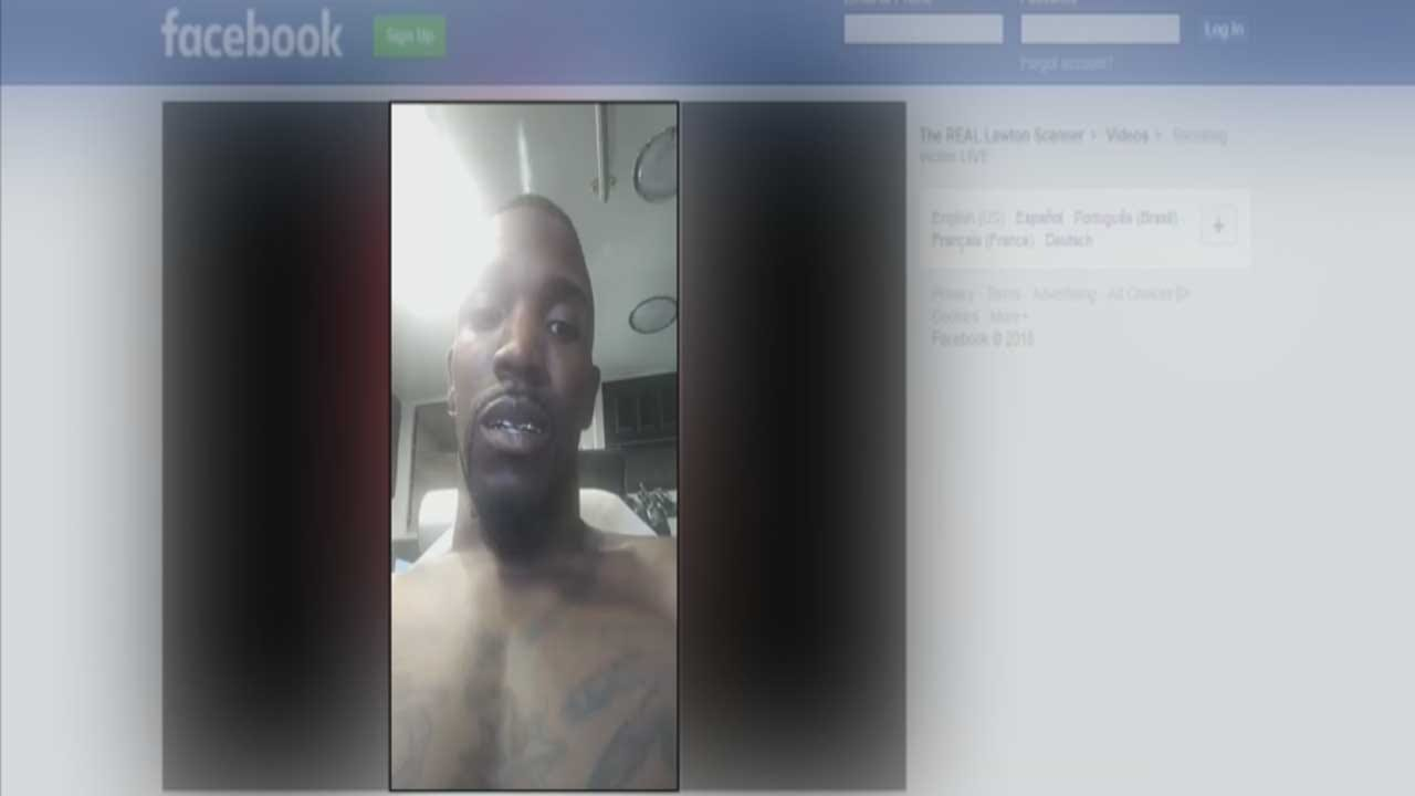 Lawton Shooting Victim Shares Aftermath On Facebook Live