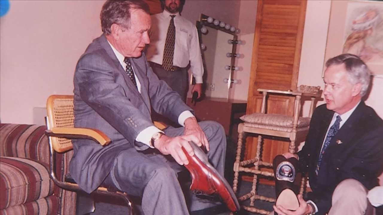 Oklahoman Made Boots For President George H.W. Bush