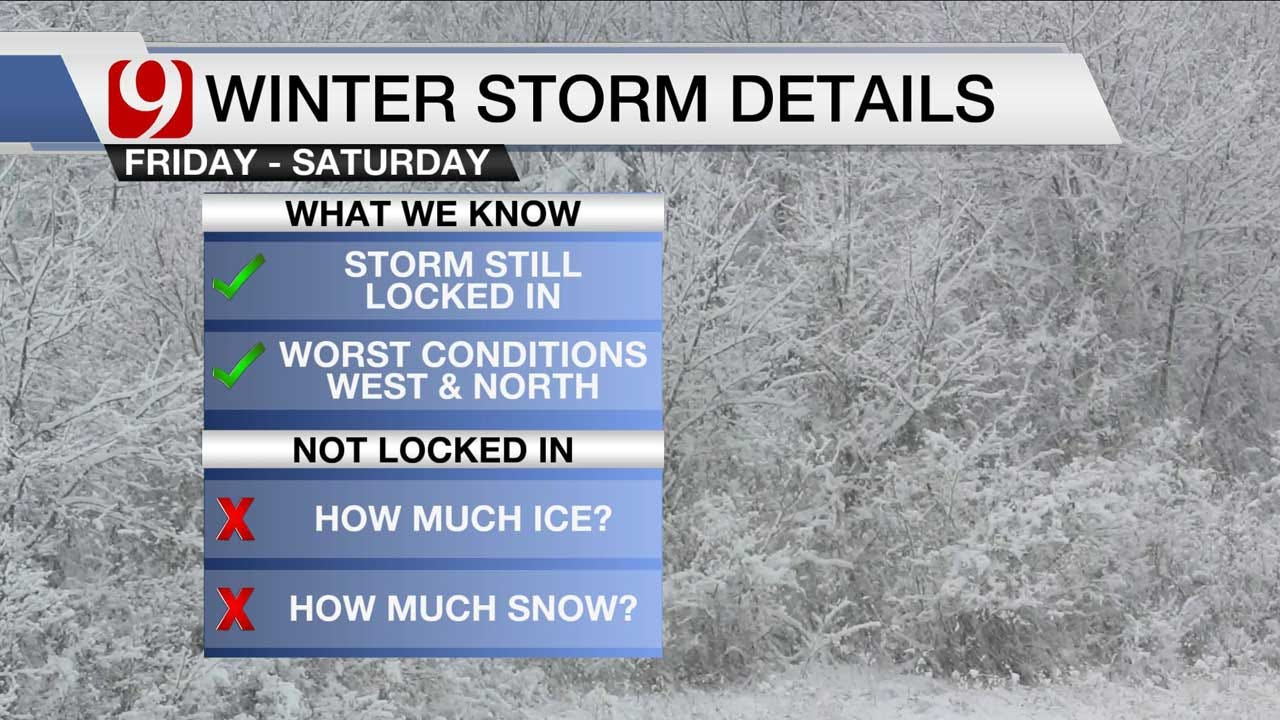Winter Storm On Track For End Of Week: Find Out When