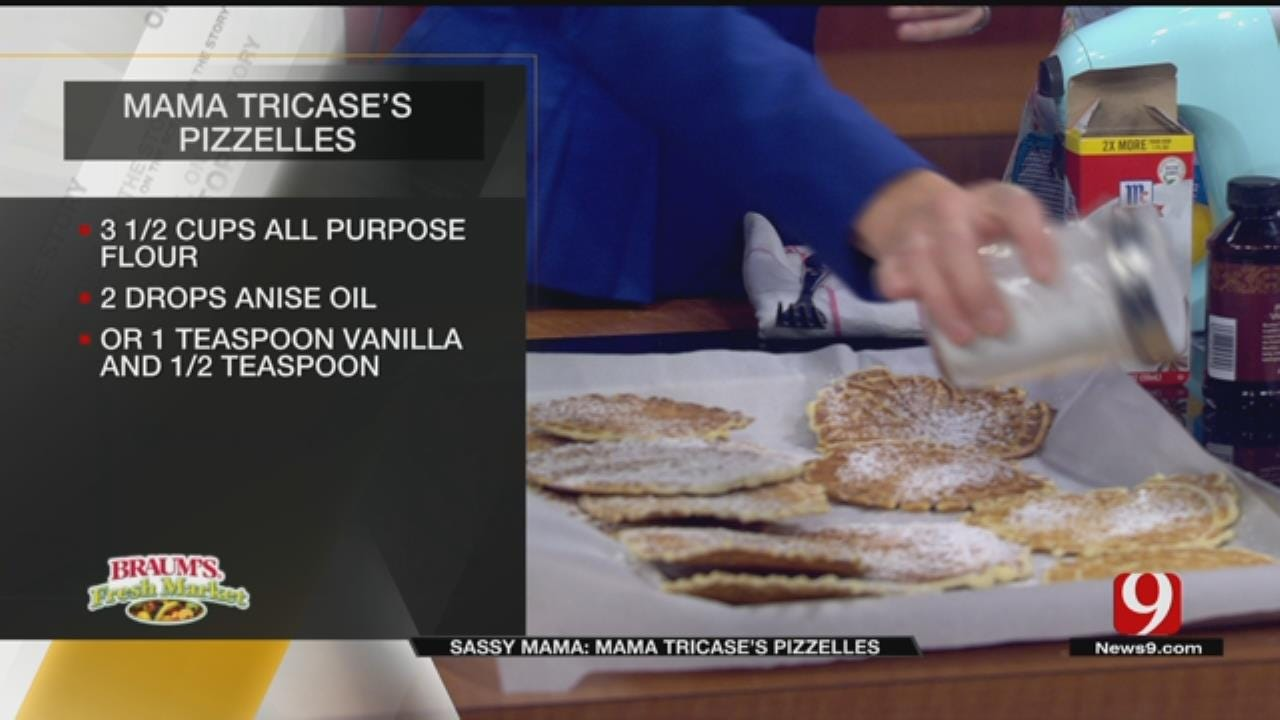Mama Tricase's Pizzelles