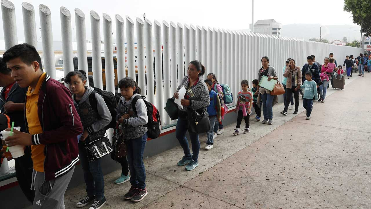 Asylum Seekers Will Be Forced To Wait In Tijuana For Their Day In Immigration Court